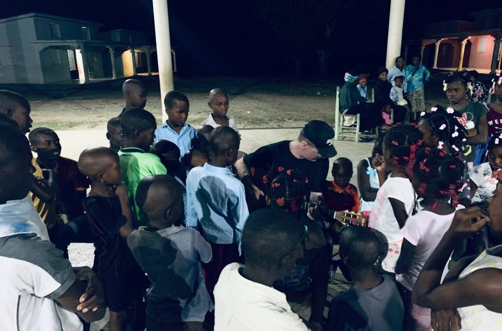 I found luv and hope. Haiti changed me.