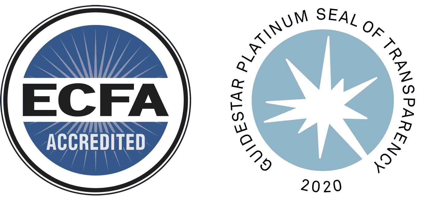 Coreluv is ECFA and Guidestar Accredited